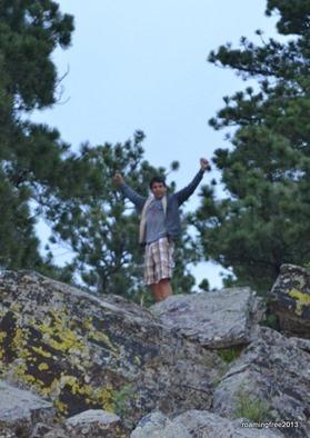 Climbing rocks again!
