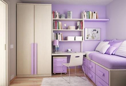 decoracion-habitacion-de-niños-color-violeta