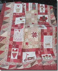 Red Home Quilt