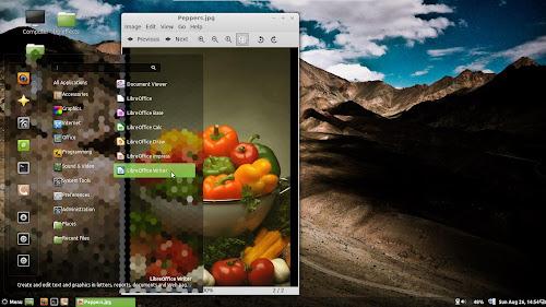Linux Mint 15 - Cinnamon 1.8