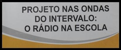 Logotipo CAIC Projeto Nas Ondas do Intervalo O Rádio na Escola
