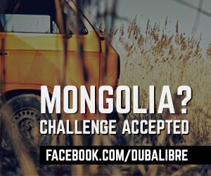Duba Libre in Mongol Rally