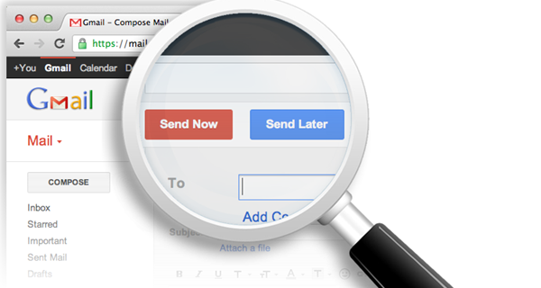 Programmer une date d'envoi de mails dans Gmail avec right inbox