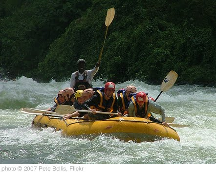 'White Water Rafting (on The Nile)' photo (c) 2007, Pete Bellis - license: http://creativecommons.org/licenses/by/2.0/