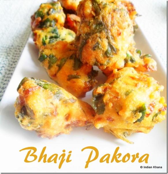 Easy palak bhaji pakora urad dal palak bada vada recipe