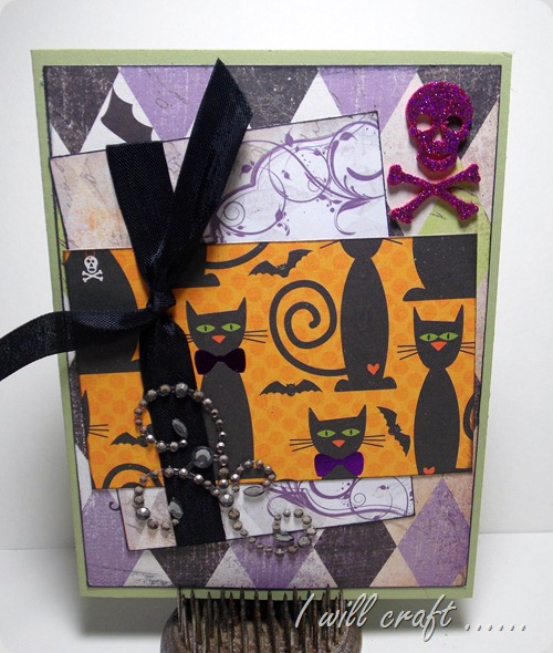 havestampswillcraft black cat card