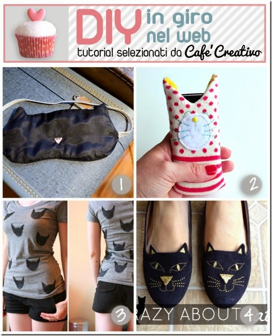 cafecreativo-tutorial regali fai da te per amanti gatti