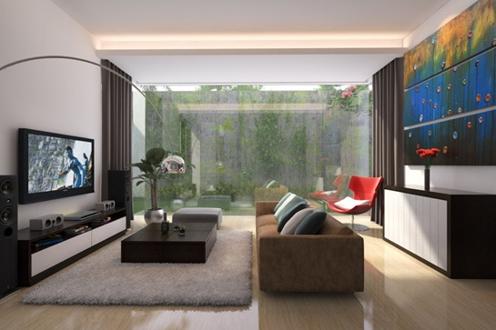 living-room-with-garden