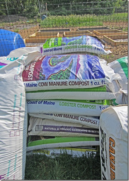 Five types of compost