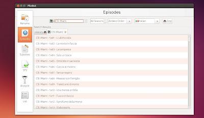 FileBot 4.0 in Ubuntu Linux