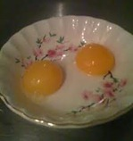 egg yolks