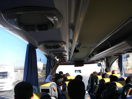 Transport Turcia: autobuz Ankara - Erzurum