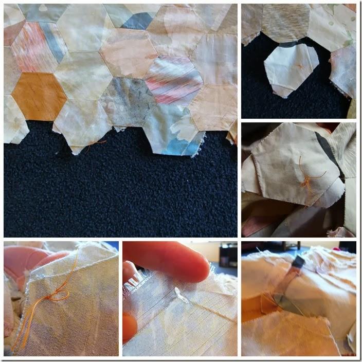 Repair hexi quilt
