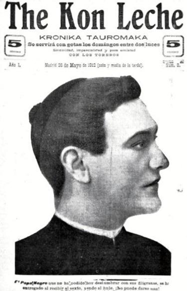 1912-05-26 TKL Portada Papa Negro