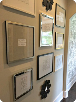framing recipes
