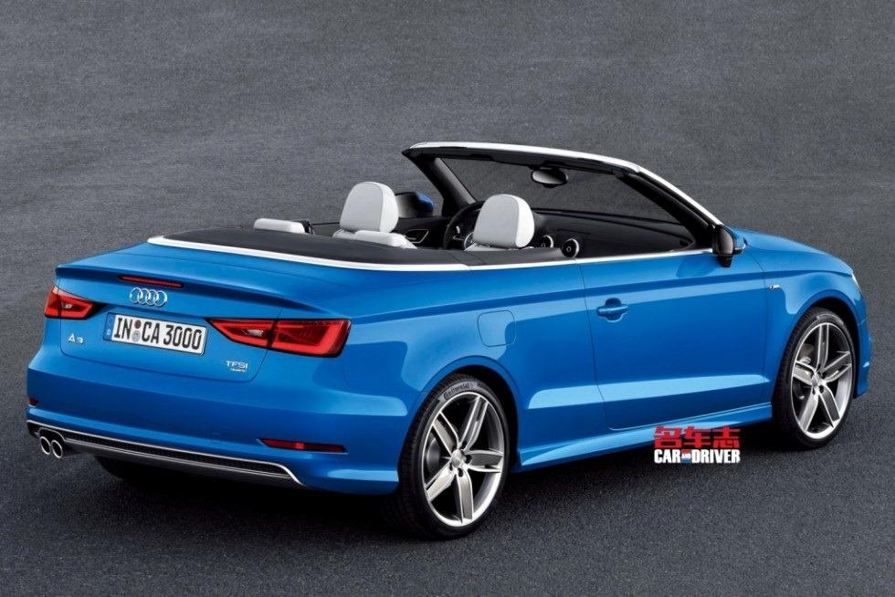 2014 audi a3 cabriolet revealed nordschleife autoblahg. Black Bedroom Furniture Sets. Home Design Ideas