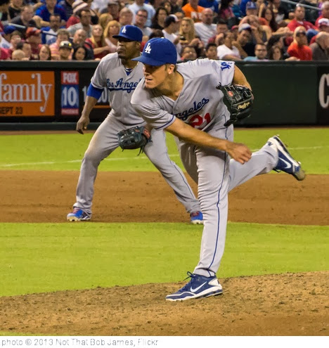 'Another Strong Start for Greinke' photo (c) 2013, Not That Bob James - license: http://creativecommons.org/licenses/by-nd/2.0/
