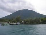 A nice view of Sebesi peak (Daniel Quinn, February 2011)