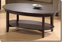 oval coffee table Isabelle Collection