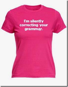 t shirt grammar