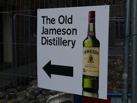 Imagini Irlanda: drumul spre Jameson Old Distillery Dublin