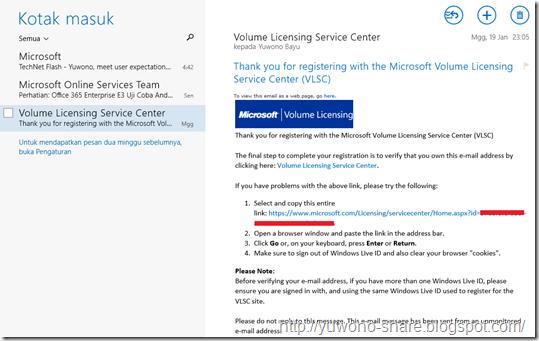 Microsoft Volume Licensing Service Centre 6