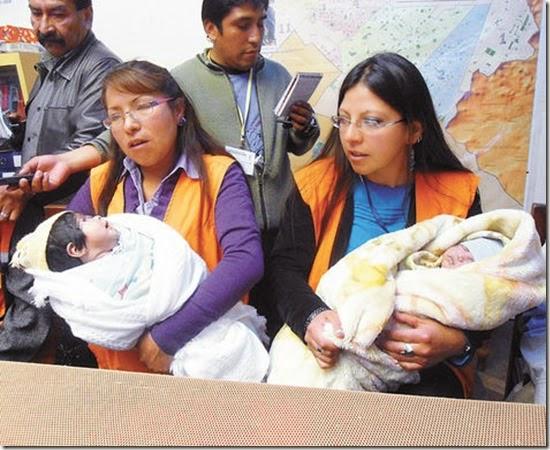 Niños abandonados en El Alto