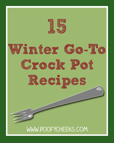 15 Winter Go-To Crock Pot Recipes