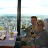 at CN tower in toronto in Toronto, Ontario, Canada