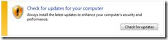 Menghentikan Automatic Updates