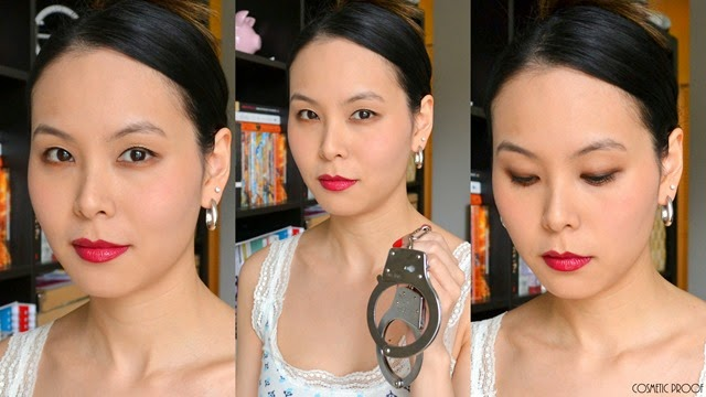 MAKE UP FOR EVER 50 Shades of Grey Desire Me Cheeky Blush Trio Review Swatches