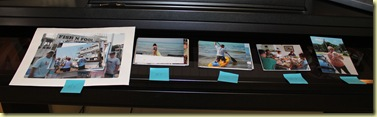 01 Organize the photos by 2-pg layout