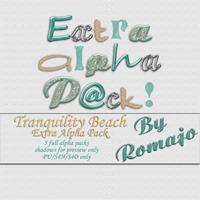 Tranquility Beach - Extra Alpha