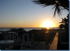 6772 Texas, South Padre Island - KOA Kampground sunset deck
