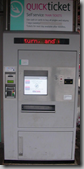 Older ticket machine