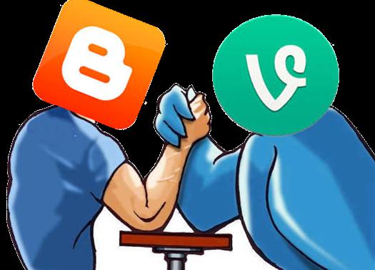 bloggervsvlogger