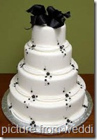 wedding cake dot name
