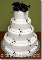 wedding cake dot name