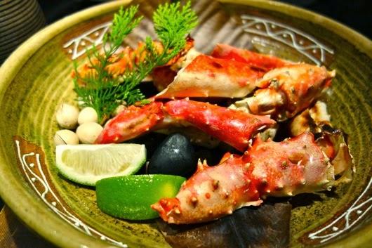 Alaskan King Crab Legs at Mitsui