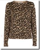 Oasis Leopard Print Cardigan