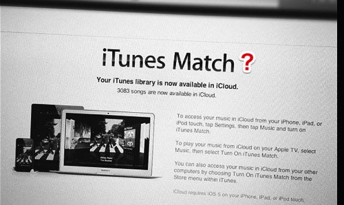 Itunes match question