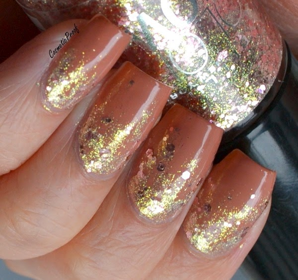 Maybelline Color Show Nail Polish Gilded Rose Reverse Gradient