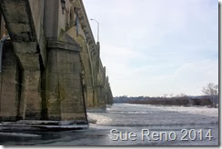 Ice on the Susquehanna River, 2/2014, by Sue Reno, Image 4