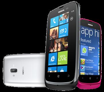 Nuevo Nokia Lumia 610 ofrece a un público más joven con la perfecta introducción a la rica experiencia Web social y de entretenimiento de Windows Phone.