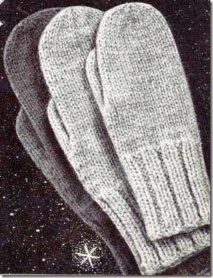 classic mitten knitting pattern