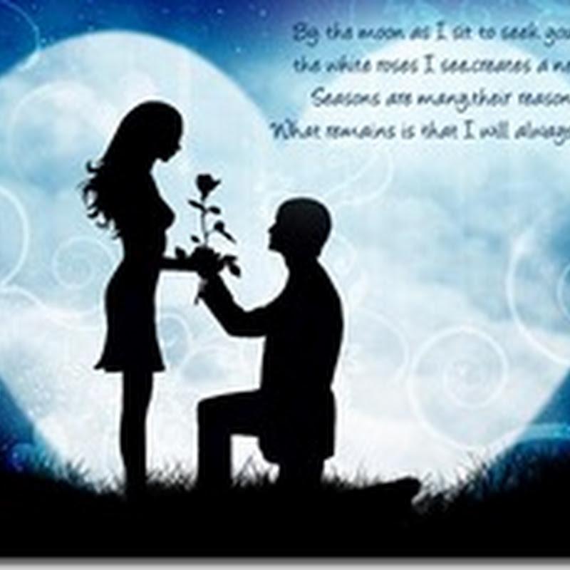 I Love You SMS To Impress Girlfriend Or Boyfriend