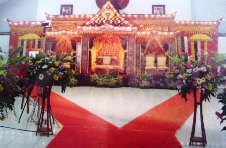 my wedding karawang: dekorasi pelaminan adat batak
