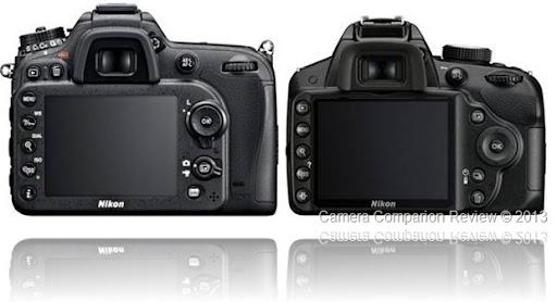 Nikon D3200 Vs D5200 Vs D7100