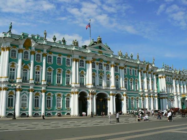Imagini Rusia: Ermitaj Sankt Petersburg