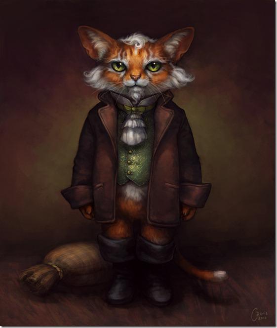 El Gato con Botas,El gato maestro,Cagliuso, Charles Perrault,Master Cat, The Booted Cat,Le Maître Chat, ou Le Chat Botté (157)